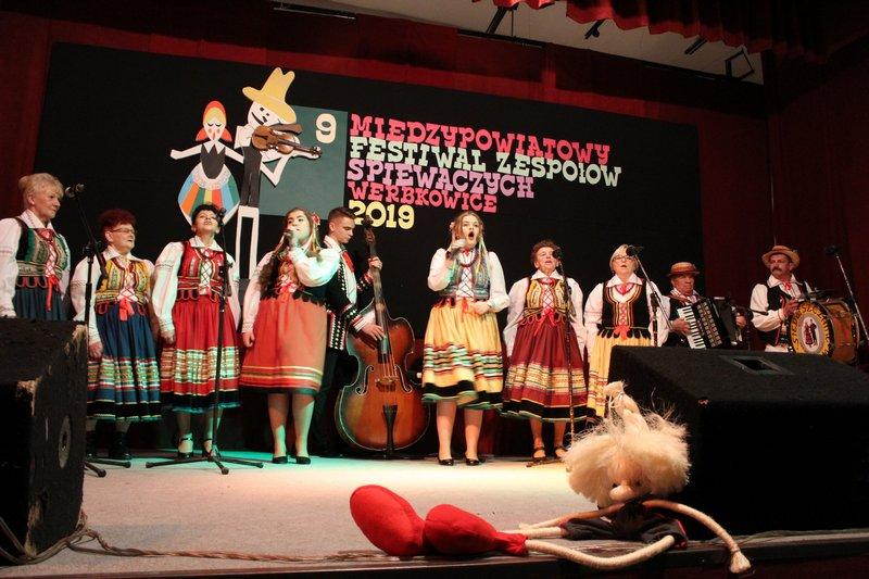 Zespół ludowy w Werbkowicach